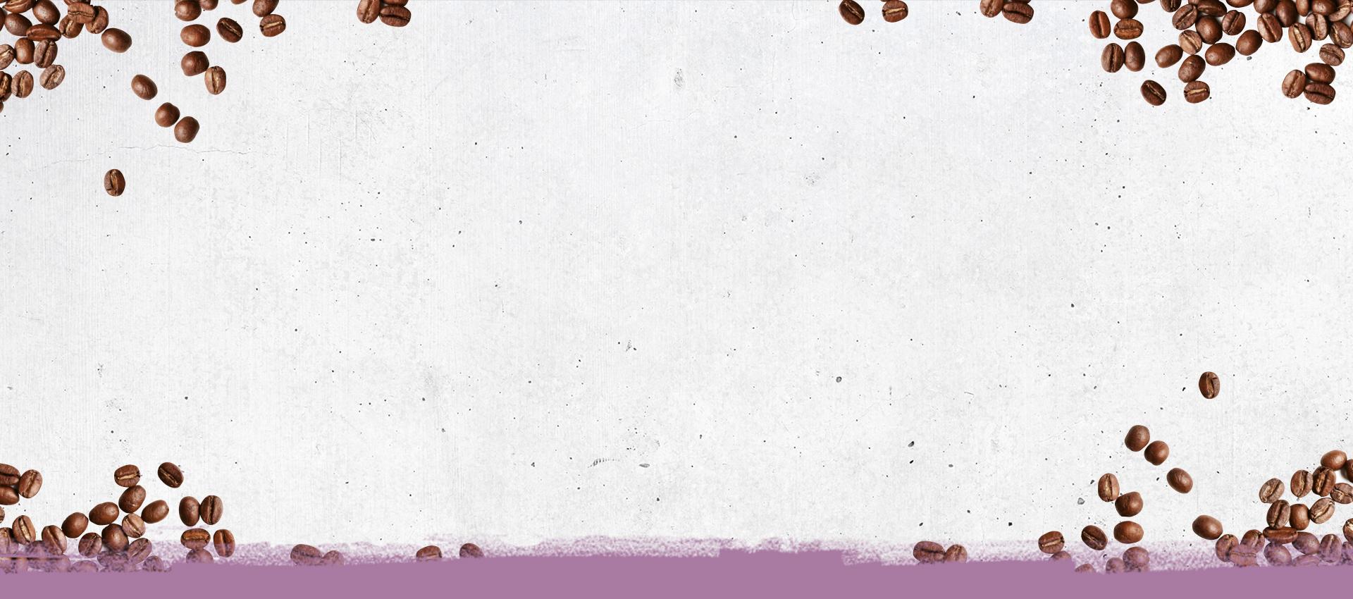 Coffeeboxx Hintergrund Beton mit Kaffeebohnen